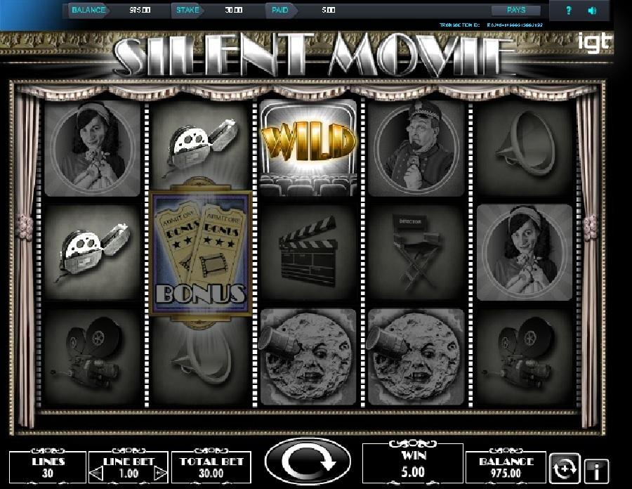Výherní automaty Silent Movie