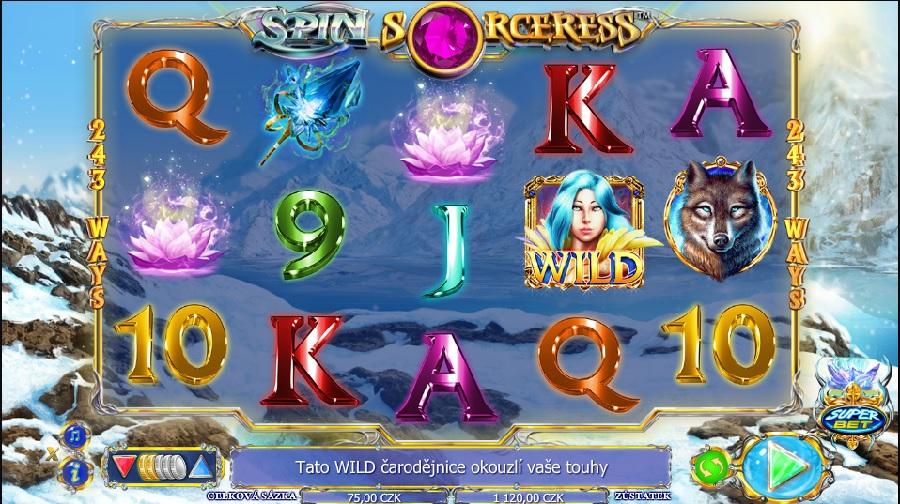 Automatová hra Spin Sorceress