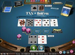 Video automaty Texas Holdem Poker