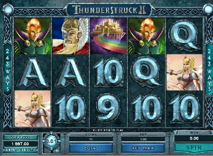 Thunderstruck 2 výherní automat