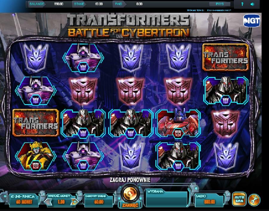 Transformers gra online