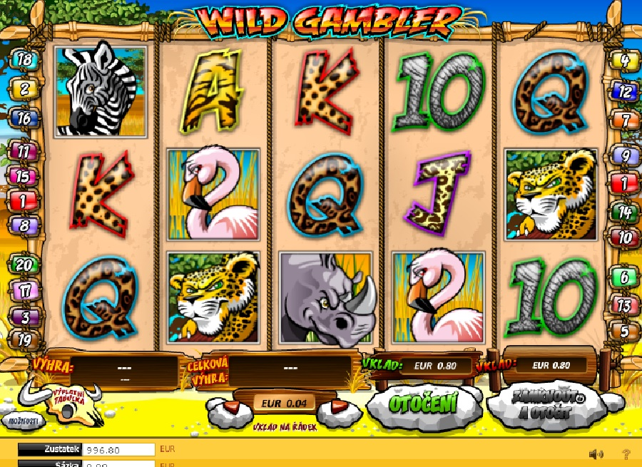 Hrací automaty Wild Gambler