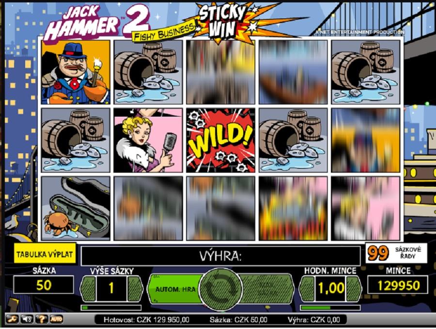 Jack Hammer 2 online automat