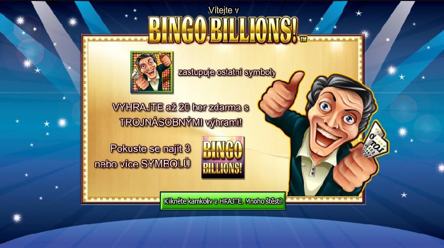Bingo Billions automaty online