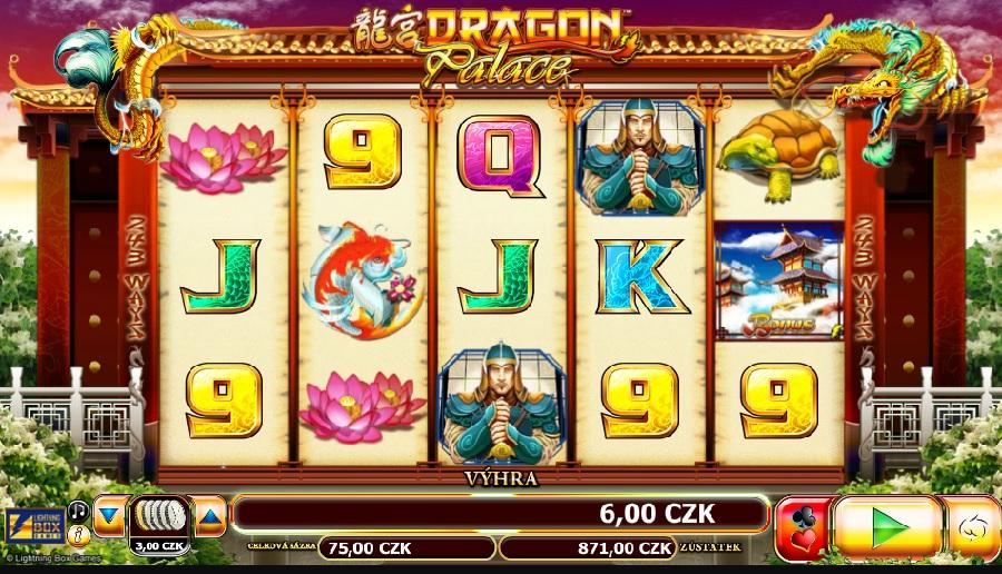 Výherné hracie automaty Dragon Palace