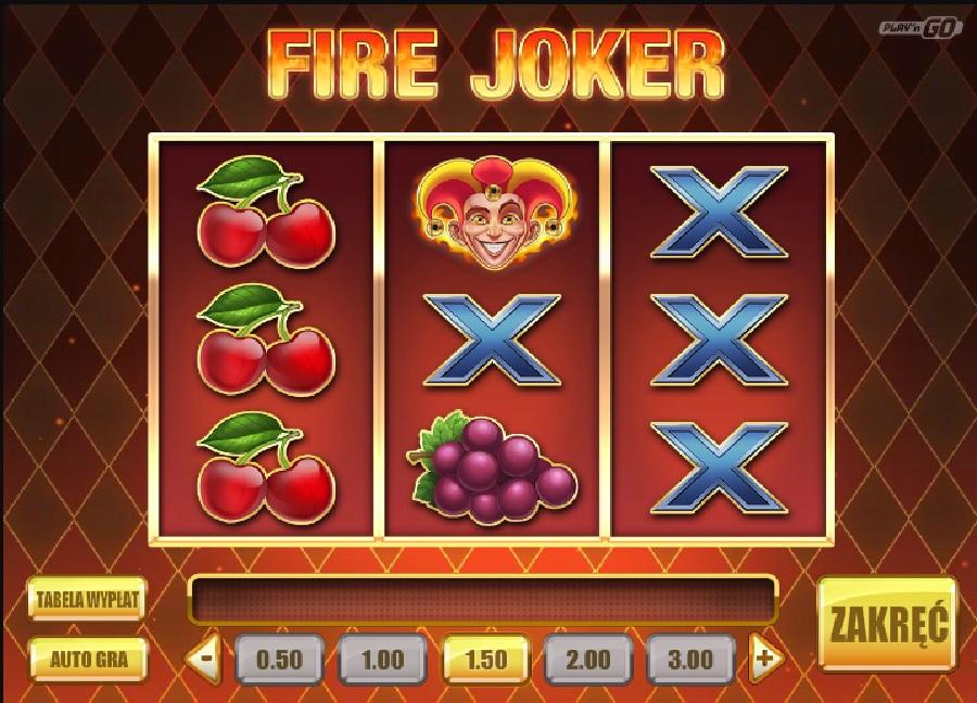 Maszyna Fire Joker online