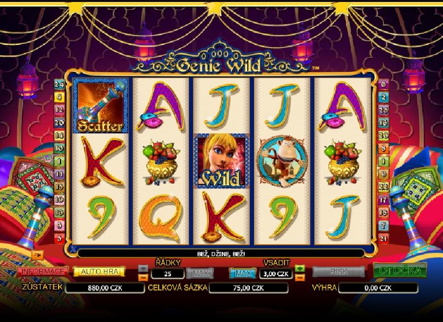 Genie Wild automaty online zadarmo