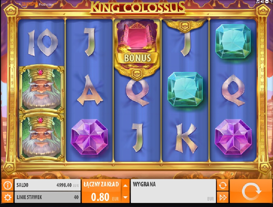 King Colossus slotowe gry