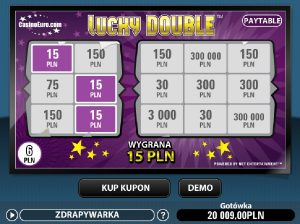 Gra Lucky Double online