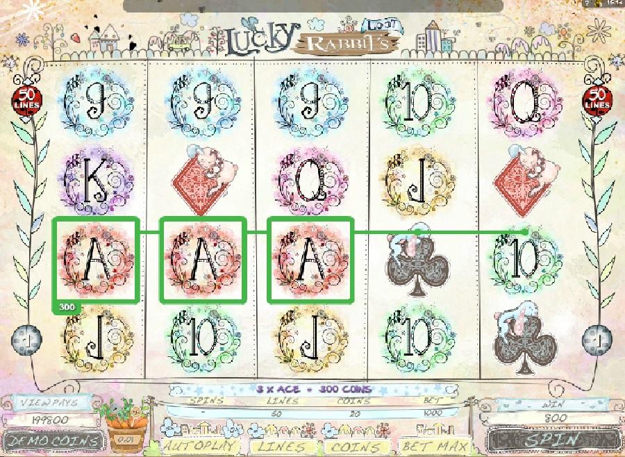 Hrací automaty Lucky Rabbits Loot