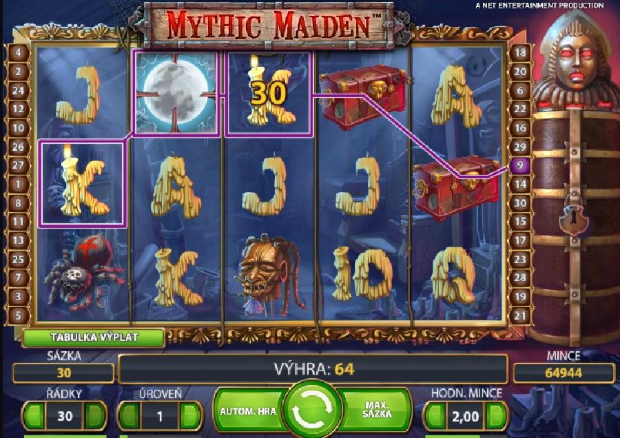 Výherní automaty Mythic Maiden