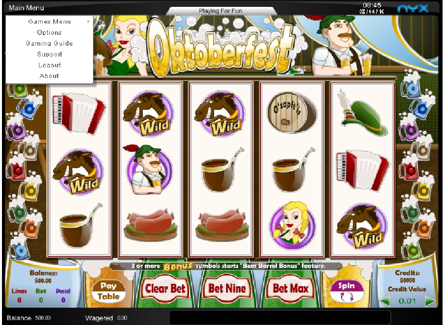Oktoberfest automat online