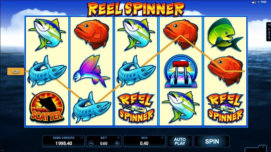 Reel Spinner výherní automaty