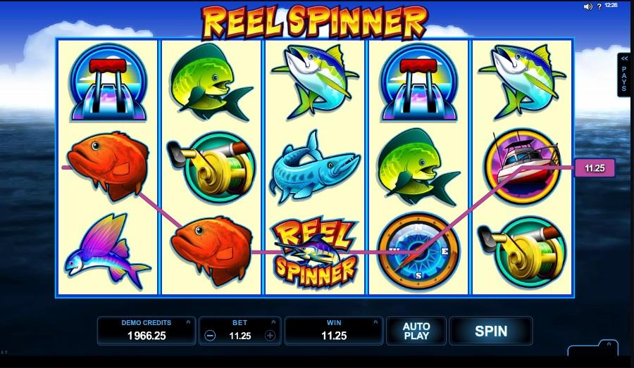 Reel Spinner výherné hracie automaty