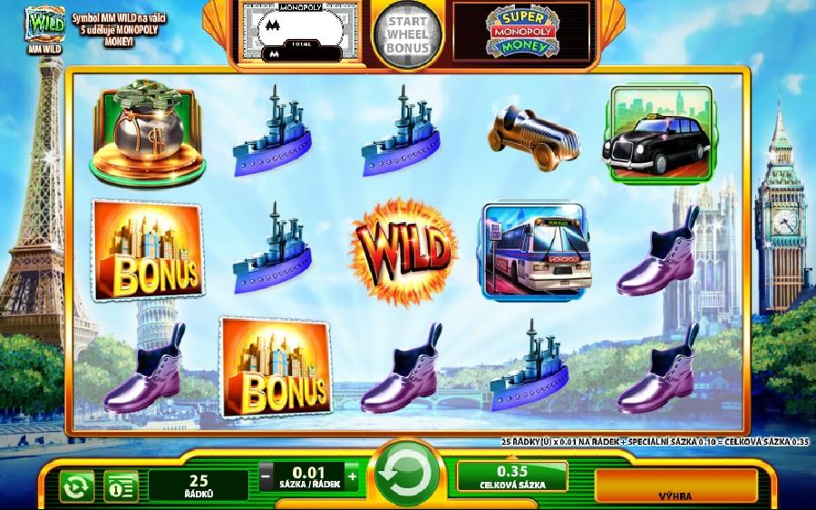 Super Monopoly Money online automaty