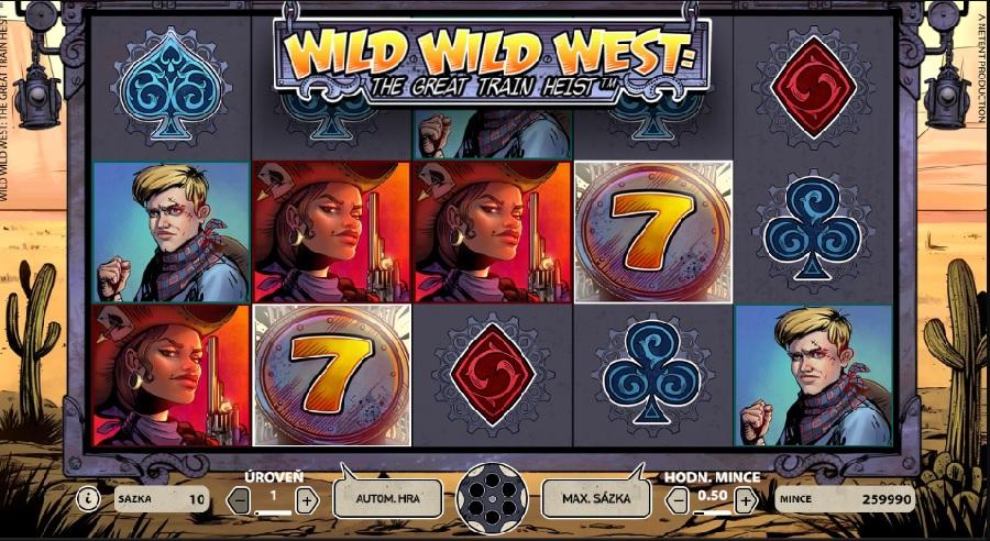 Wild Wild West výherné automaty
