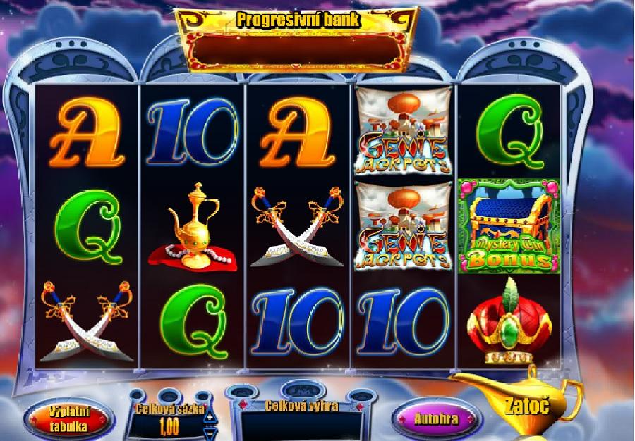 Genie Jackpots automaty