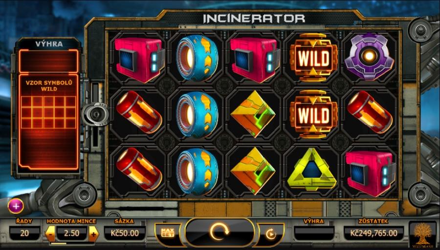 Automaty Incinerator zdarma