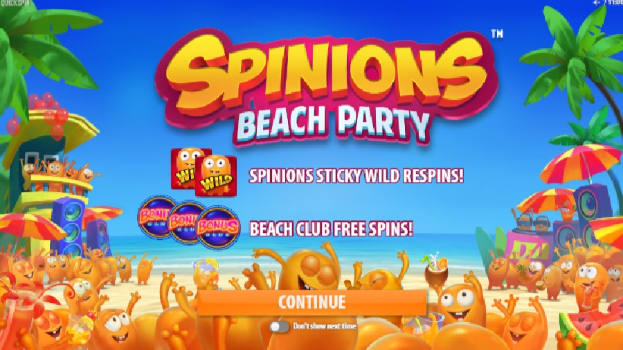 Výherní automaty Spinions: Beach Party