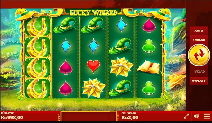 Lucky Wizard hracie automaty zadarmo