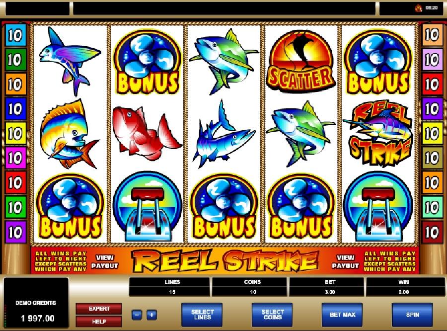 Reel Strike automatová hra