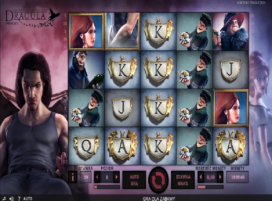 Dracula darmowe automaty do gry