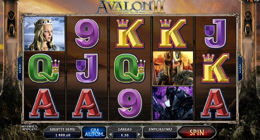 Darmowe automaty Avalon 2