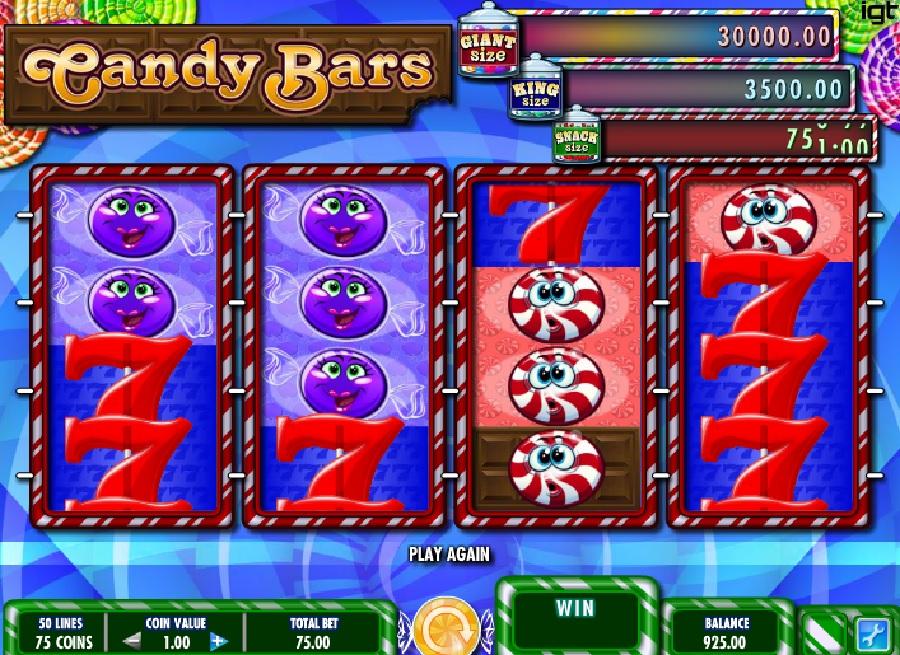 Darmowe automaty Candy Bars