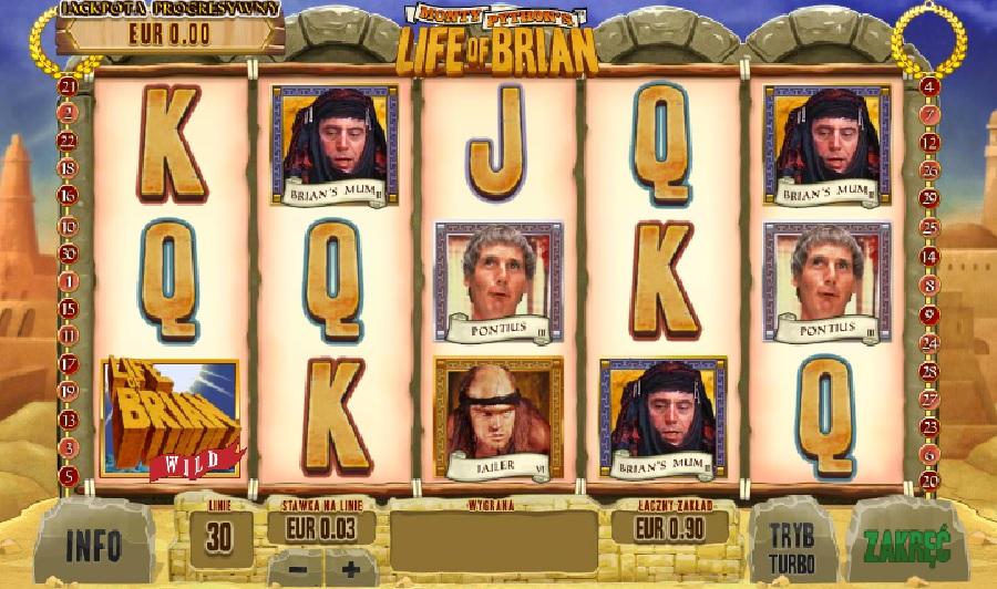Life Of Brian (Żywot Briana) slotowe gry