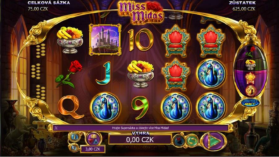 Miss Midas výherné automaty