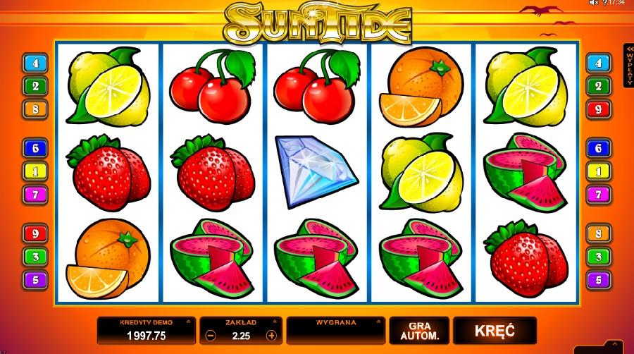 Sun Tide darmowe automaty online
