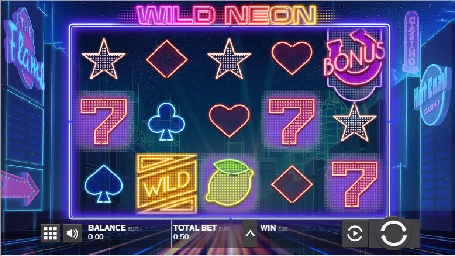 )Wild neon