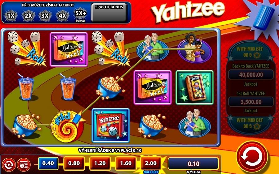 Slotowe gry Yahtzee online