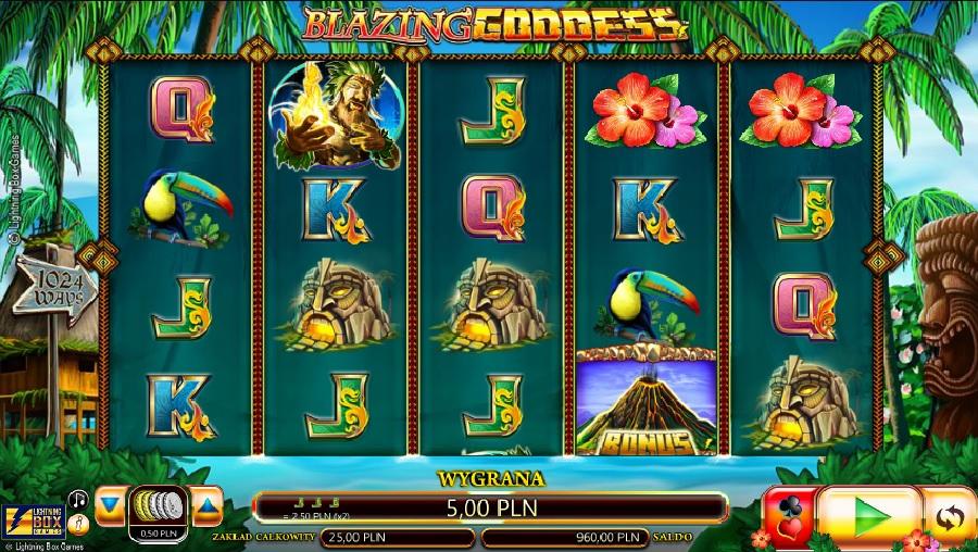 Automaty do gry Blazing Goddess