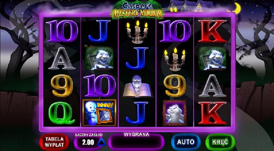 Casper's automaty do gry
