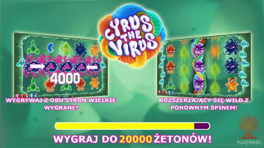 Cyrus the virus darmowe automaty do gry