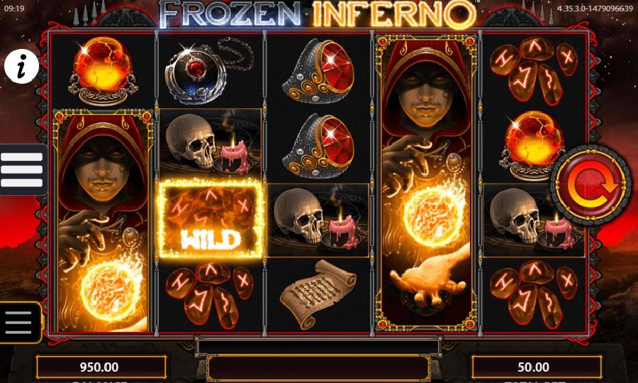 Darmowe automaty Frozen Inferno
