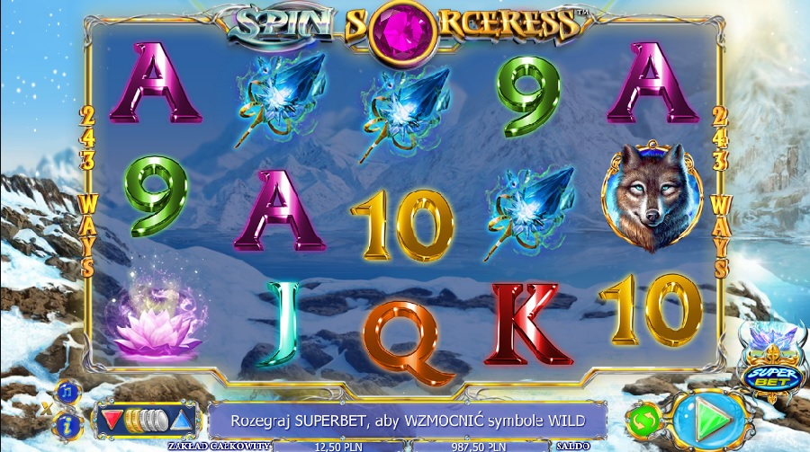 Slotowe gry Spin Sorceress