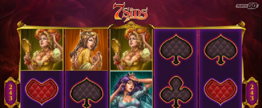 7 Sins online video slot