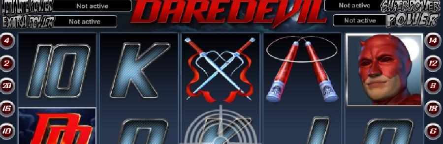 Slotowe gry Daredevil
