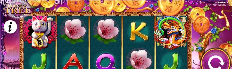 Slotowe gry Lucky Tree za darmo