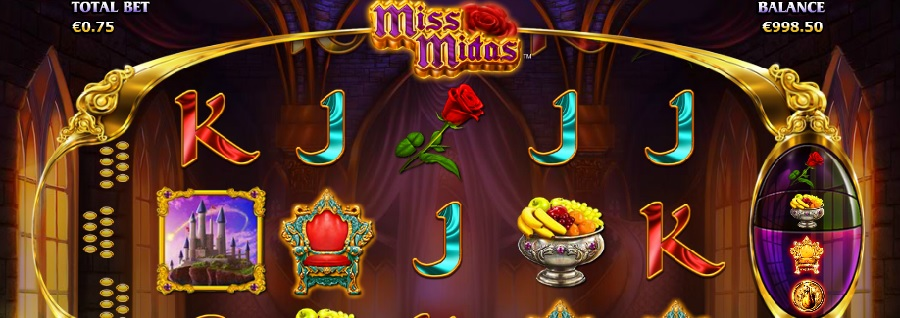 Miss Midas slot machines