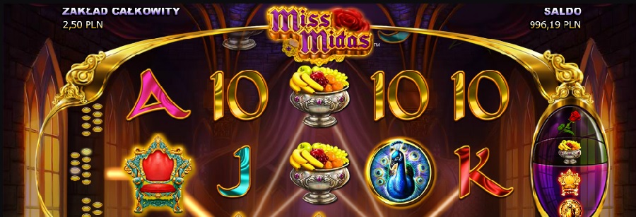 Miss Midas video gry za darmo