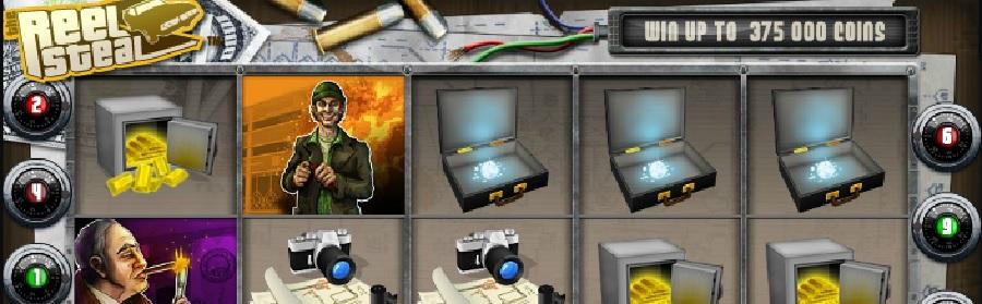 Slotowe gry Reel Steal