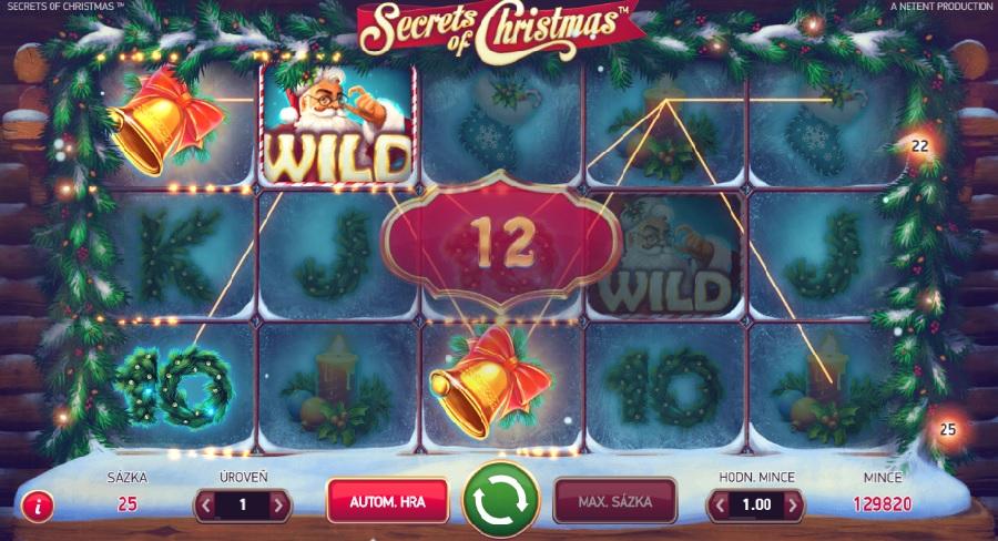 Secrets of Christmas vyherní automaty
