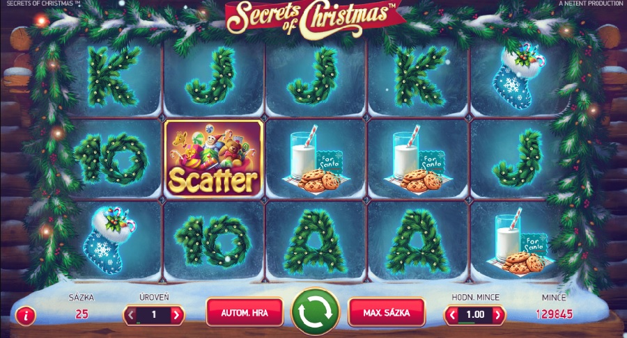 Secrets of Christmas online automaty