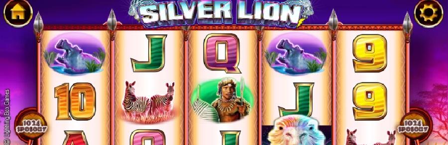 Silver Lion slotowe gry