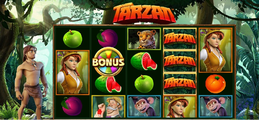 Tarzan online video slot