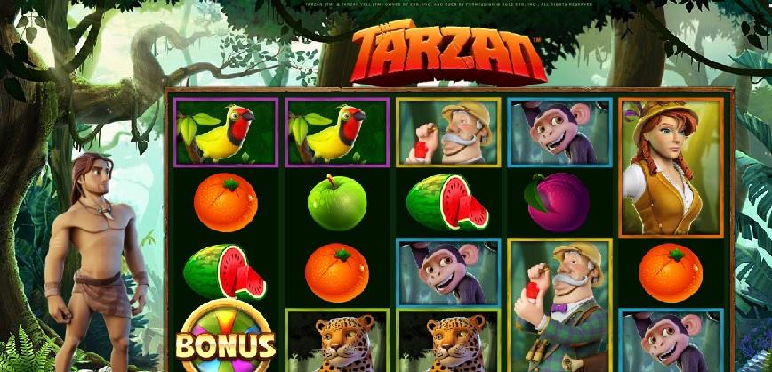 Tarzan automaty do gry
