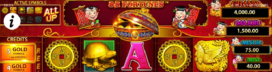 88 Fortunes online slots